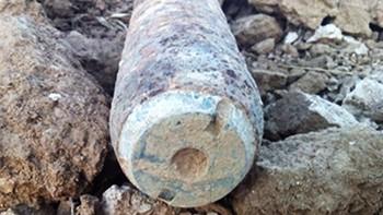 Destruyen una bomba de aviación de diez kilos encontrada por un cazador en Simancas, Valladolid