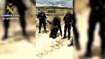 Detenido en Ávila un peligroso delincuente que se fugó tras encañonar a dos guardias civiles