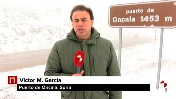 La nieve regresa a Castilla y León este lunes con ocho provincias en alerta amarilla