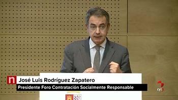 Zapatero exige compromiso para dar oportunidades a las personas con discapacidad