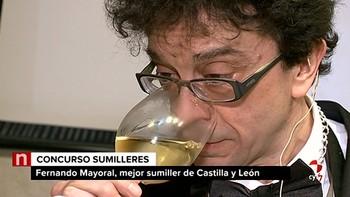 Fernando Mayoral, mejor sumiller de Castilla y León