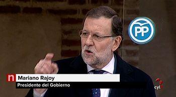 Rajoy: 'Los espa�oles necesitan certidumbre y confianza y para eso hay que haber sido concejal'