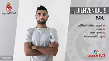 Manu Rodríguez, primera cara nueva de la Cultural