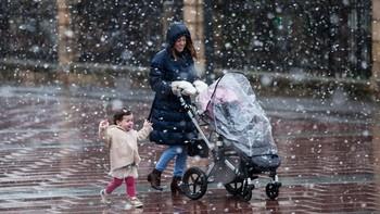 Soria estrena diciembre con nieve en toda la provincia