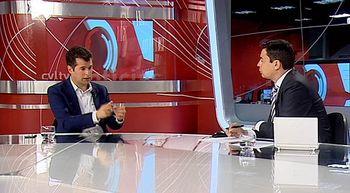 Entrevista a Luis Tudanca, candidato a la presidencia de la Junta...