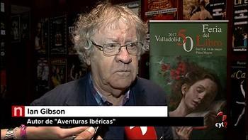 El hispanista y escritor Ian Gibson presenta 'Aventuras Ibéricas', donde da su visión de España
