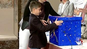 Un niño de León representará a la Comunidad en el Concurso Nacional '¿Qué es un Rey para ti?'
