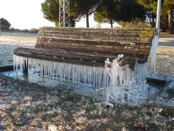 Más frío y heladas fuertes en toda la Comunidad