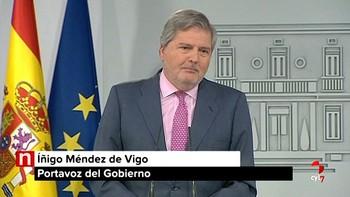 Gobierno recurre la investidura a distancia de Puigdemont y que pueda hacer 'consejos' en el extranjero