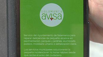 'Salamanca Avisa' ha resuelto en sus dos primeros a�os m�s de 3.600 incidencias