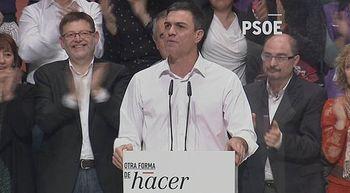 Pedro S�nchez avisa: 'A quien teme el PP es al PSOE'