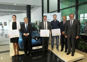 Renault concede a Iberdrola, Emasesa y ParkiFast los V Premios a la Mejor Práctica en Movilidad Sostenible