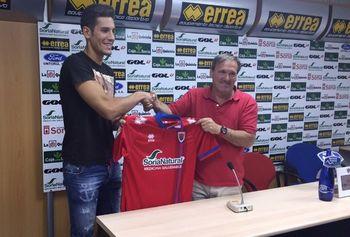 Álex Alegría ya está en Soria