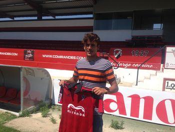 Marco Sangalli, nuevo jugador del Club Deportivo Mirandés