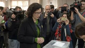 Rovira (ERC) pide que gane la democracia 'como ganó el 1 de octubre'