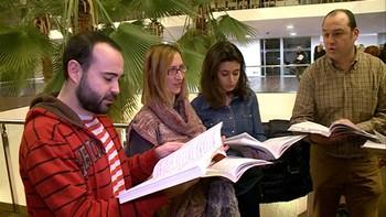 Más de 300 voces de aficionados participan en Valladolid en el concierto El Mesías de 'la Caixa' y la Junta