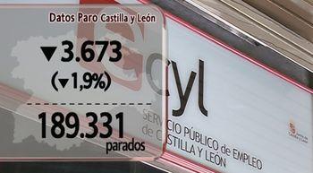 El paro se redujo en julio en Castilla y Le�n un 1,9% y baja hasta las 189.331 personas