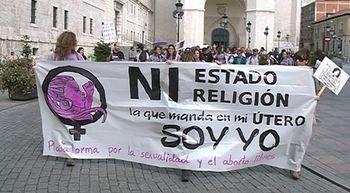 Reclaman en Valladolid la eliminaci�n de los plazos y los supuestos para abortar