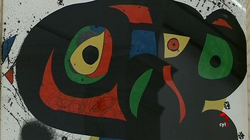 La obra de Miró llega al Museo de la Pasión de Valladolid