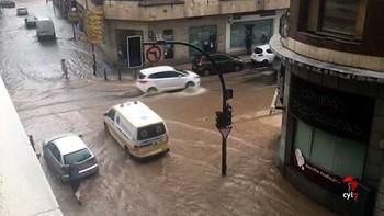 Las calles de Salamanca vuelven a la normalidad tras la gran tormenta de este lunes