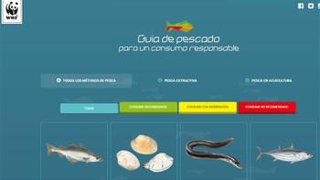WWF lanza una 'app' para fomentar el consumo responsable de pescado sin devorar los océanos