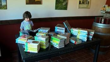 Ventosa de San Pedro, localidad soriana de trece habitantes, reúne una biblioteca de 1.600 volúmenes