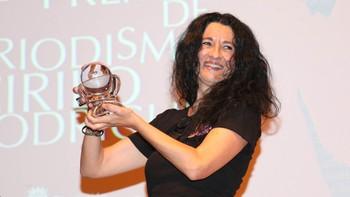 Cristina Sánchez, corresponsal de RNE en Jerusalén, ganadora del XXXIV Premio de Periodismo 'Cirilo Rodríguez'