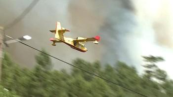 El gobierno portugués descarta ahora que un avión se haya estrellado en la zona del incendio