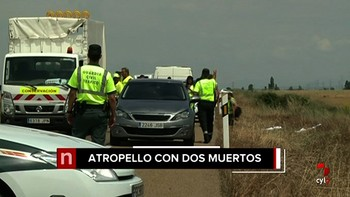 Atropella mortalmente a un matrimonio, deja un menor gravemente herido y se da a la fuga en Matallana, León