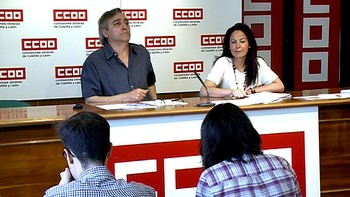 CCOO denuncia que todo el empleo asalariado neto generado en 2016 en Castilla y León fue temporal