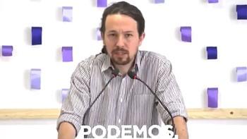 Podemos, dispuesto impulsar una nueva moción de censura para convocar elecciones si fracasa la del PSOE