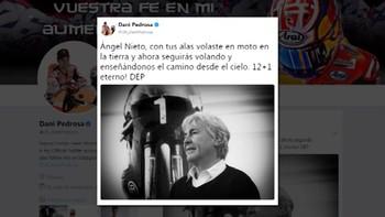 Numerosos mensajes de condolencia por la muerte de Ángel Nieto