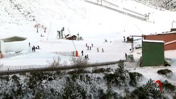 Abre la estación de esquí de La Pinilla, Segovia