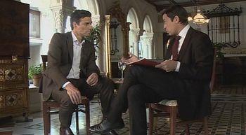 CyLTV entrevista a Pedro S�nchez, secretario general del PSOE