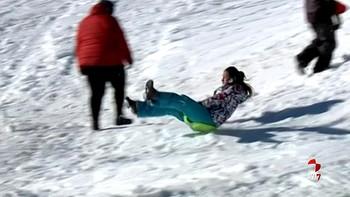 La estación de esquí de Lunada, Burgos, inaugura temporada