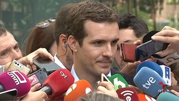 Pablo Casado: 'Soy el candidato de los afiliados y los militantes'