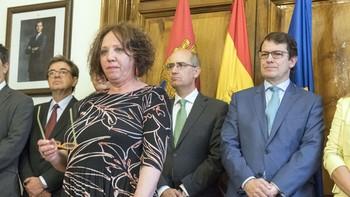 Encarnación Pérez pide 'altura de miras' y sumar 'imaginando soluciones' como subdelegada en Salamanca