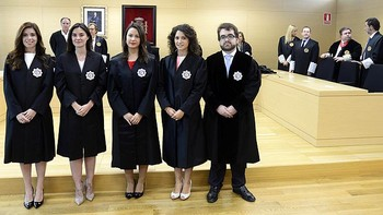 Cinco nuevos jueces juran sus cargos en el TSJCyL para ejercer 'con ilusi�n y con trabajo'