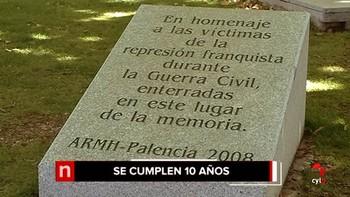 La ley de la Memoria Histórica cumple 10 años