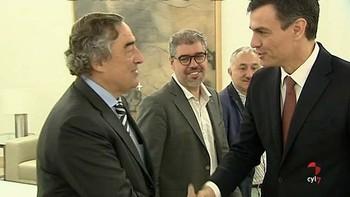 Sánchez se reúne con los líderes de CCOO, UGT, CEOE y Cepyme para una primera toma de contacto