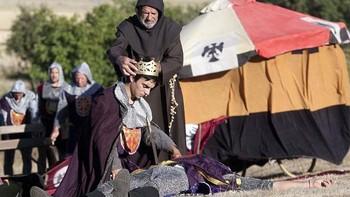 M�s de 200 actores aficionados participan en la recreaci�n de la Batalla de Atapuerca