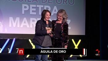 Petra Martínez, Águila de Oro del Festival de Cortos de Aguilar de Campoo
