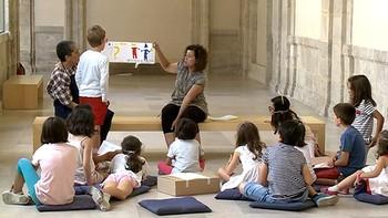 El arte contemporáneo se convierte en diversión para los más pequeños