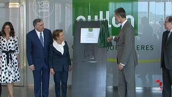 El Rey visita Gullón en su 125 aniversario en Aguilar de Campoo