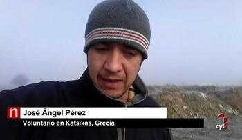 De hospitalero del Camino de Santiago a voluntario en un campo de refugiados en Grecia