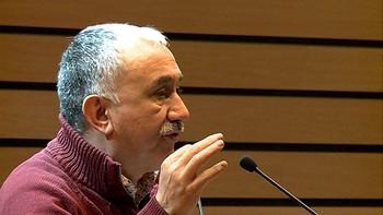 Pepe Álvarez anuncia una movilización 'creciente para sacar más gente a la calle'