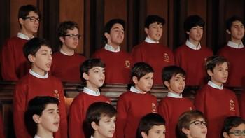 Las voces blancas de la escolanía de El Escorial