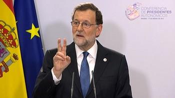 Rajoy y los presidentes autonómicos cierran acuerdos en materia de violencia de género y refugiados