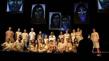 'Ágora', el nuevo montaje de la Nave del Calderón, reflexiona sobre el mundo virtual