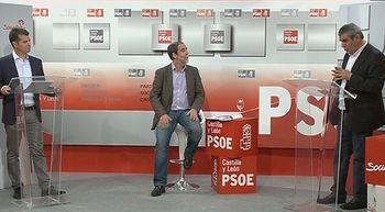 Primer y �nico debate de los dos candidatos a liderar el PSOE de Castilla y Le�n